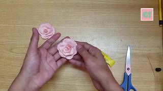 How to create paper flowers for Craft projects