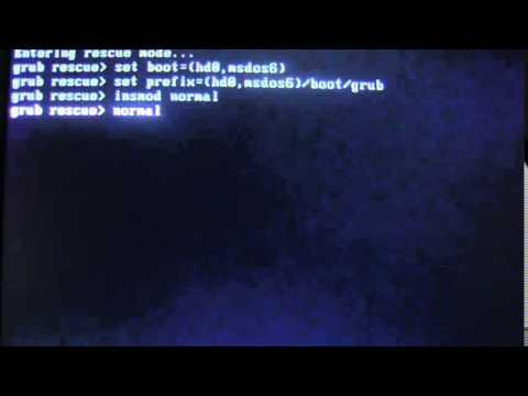 Error unknown filesystem Grub Rescue Mode fix
