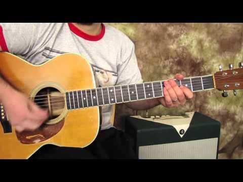 Easy Guitar Lessons on Acoustic - Joe Cocker - Feeling Alright