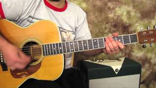 Easy Guitar Lessons on Acoustic - Joe Cocker - Feeling Alright