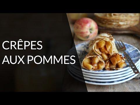 crêpe-diététique-aux-pommes---recette-healthy