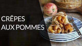 Crêpe diététique aux pommes - Recette Healthy