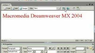 урок Dreamweaver видеоурок третий 001 на русском языке