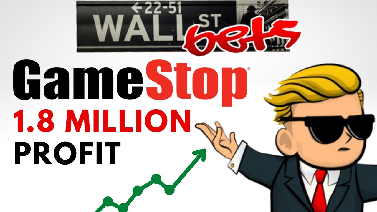 WallStreetBets $1.8 MILLION DOLLAR PROFIT | GameStop Call Option GAINS - YouTube