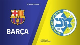 FC Barcelona -Maccabi FOX Tel Aviv Highlights | Turkish Airlines EuroLeague, RS Round 10