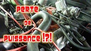 Réglage avance allumage et perte de puissance sur Rover V8