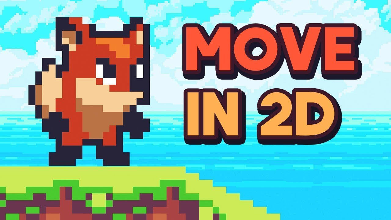 2d Movement In Unity Tutorial Youtube