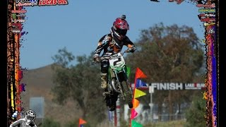 Motocross Kids Rippin On Dirt Bikes (part 7) Elsinore GP edition