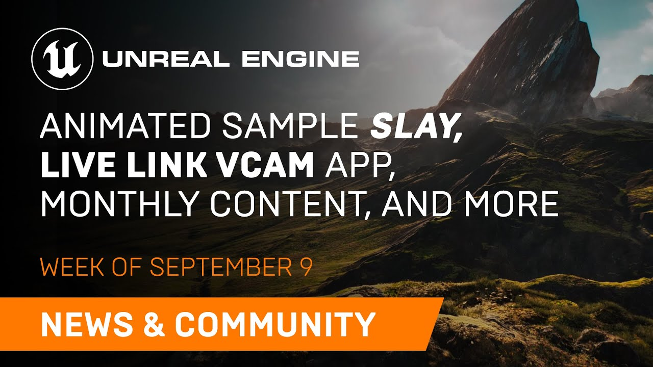 News and Community Spotlight | September 9, 2021 | Unreal Engine