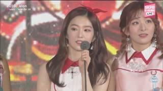 Top 10 Awards - 161119 Red Velvet (레드벨벳) - TOP 10 Awards @  MelOn Music Awards 2016
