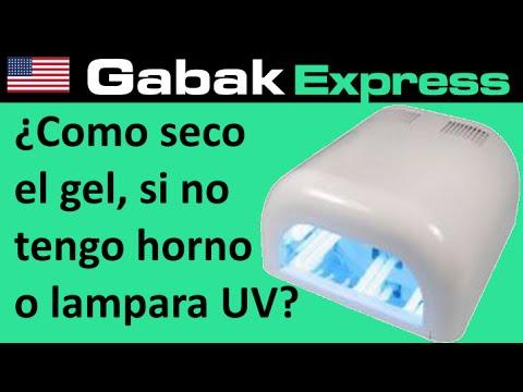 tengo uv Como lampara no el pegamento si o secar gel horno el UV rCdxBoeW