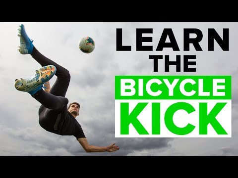 BICYCLE KICK TUTORIAL | Master these football skills
