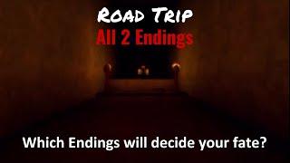 ROBLOX Road Trip | All 2 Endings