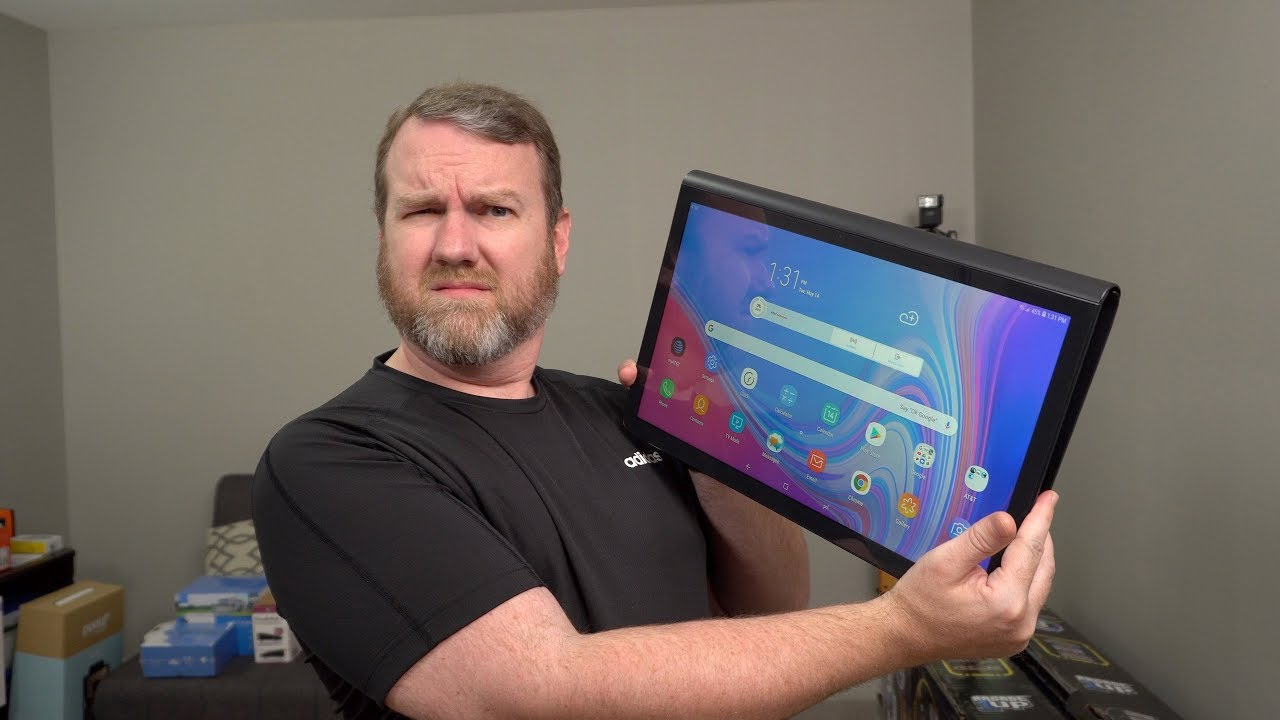 Enormous 17 Android Tablet Samsung Galaxy View2 Unboxing And Hands On Youtube