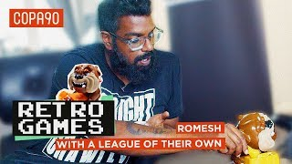'Arsenal aren't a Top 4 Team'  | Retro Games with Romesh Ranganathan