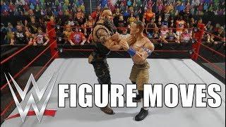 WWE FIGURE MOVES #1    WWE Monday Night Raw Edition