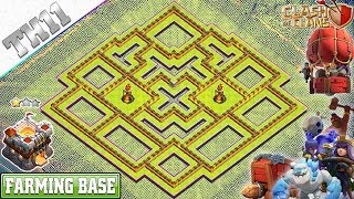 NEW TH11 Base 2019 Town Hall 11 Farming Base design Clash of Clans