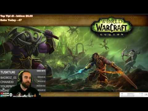 Bajheera - Alliance Broken Shore Questline [SPOILERS] - WoW 7.0 Fury Warrior PvE