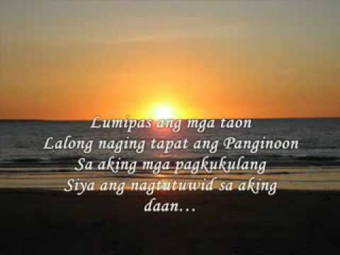 Ako'y Binago Niya lyrics by Papuri Singers, 5 meanings ...