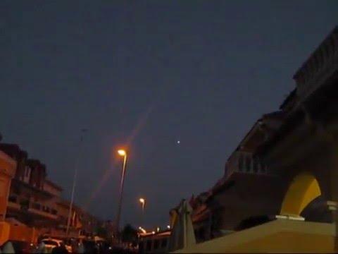 OVNI San Pedro del Pinatar - Murcia - UFO over San Pedro del Pinatar Murcia Spain