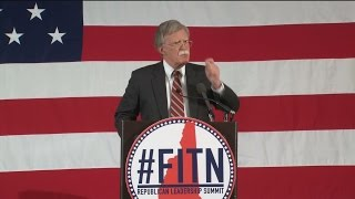 John Bolton: Nobody Believes Obama on Iran