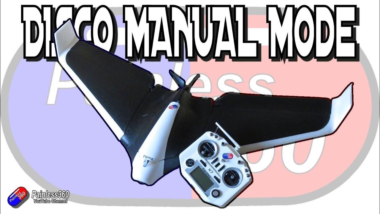 Parrot Disco & Sky Controller 2 - a very simple Modification