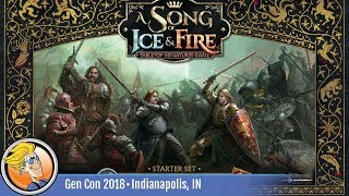 A Song of Ice and Fire: Starter Set — game overview at Gen Con 2018