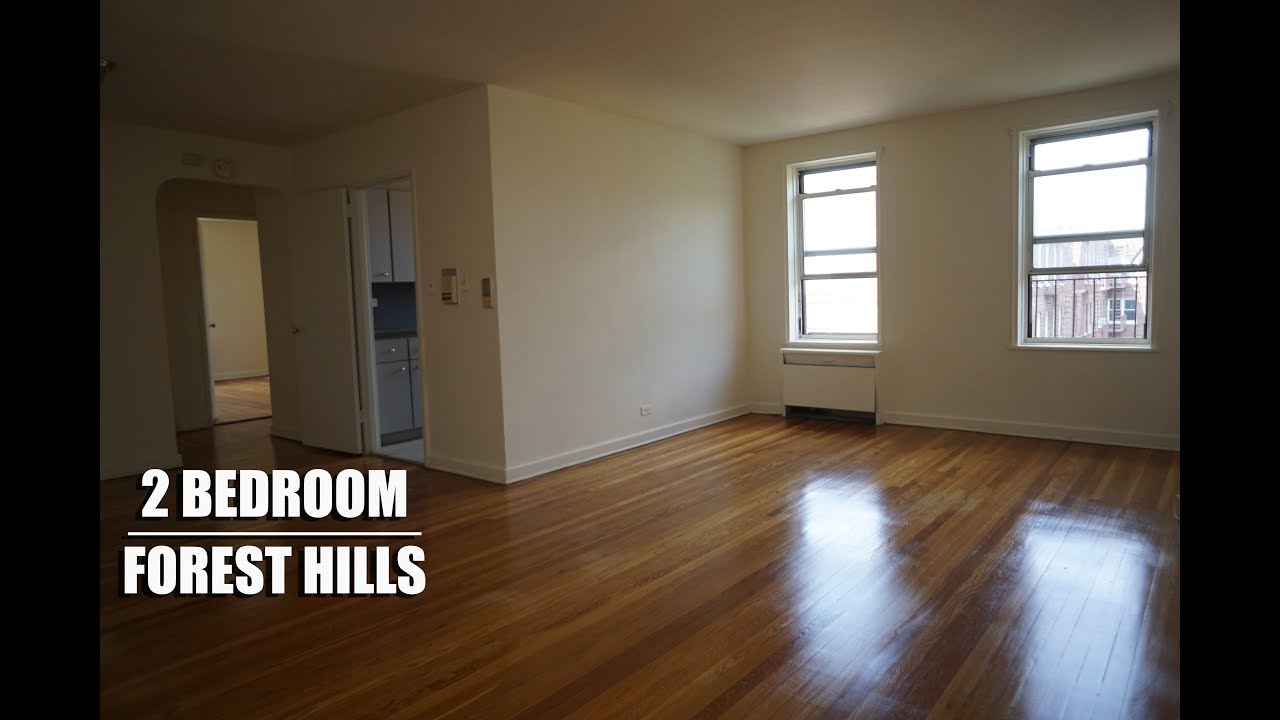 Large 2 Bedroom Apartment For Rent In Forest Hills Queens Nyc Youtube