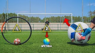 PENALTI SORPRESA (Nivel Pro...) ¡Retos de Fútbol!