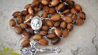 Olive Wood Rosary By Olivewoodpro.com