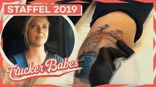 Vom Tattoostudio direkt auf die Strecke - Anne startet durch! | Trucker Babes | kabel eins