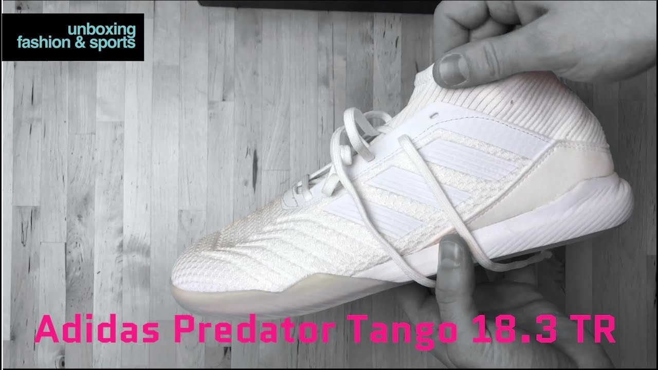 on sale fadf5 3c83d Adidas Predator Tango 18.3 TR 'Cold Blooded Pack' | UNBOXING | football  boots | 2018 | 4K