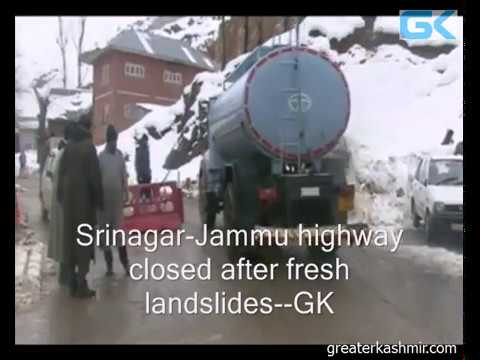 Srinagar-Jammu highway closed after fresh landslides