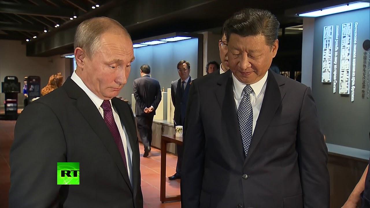На полных парусах: Путин встретился с Си Цзиньпином накануне саммита БРИКС