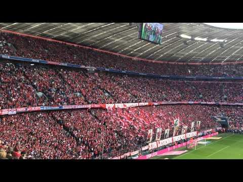 "FC Bayern München - SC Freiburg 4:1, Südkurve ""Philipp Lahm"""