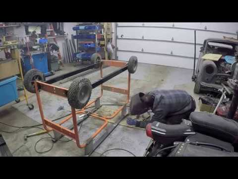 Building a work bench from scrap metal (Part 2)