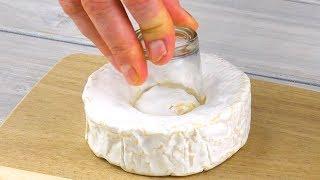 Deshalb gehört das Glas in den Käse. Nach 20 min Warten wirst du große Augen machen!