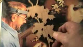 Wood Carving Finished Surfaces With Power Carving (high Speed Engraving) Tools