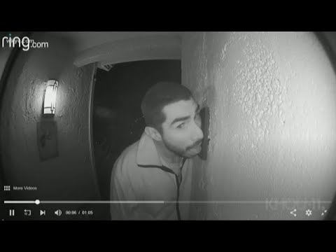 Eric Hunter - California Man Caught Licking Doorbell