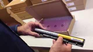 Lenovo Notebook Ersatzteile Original verpackt im Wareneingang der IPC-Computer