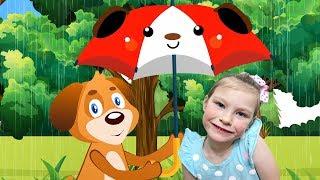 Rain Rain Go Away Nursery Rhymes and Kids Songs by KybiBybi