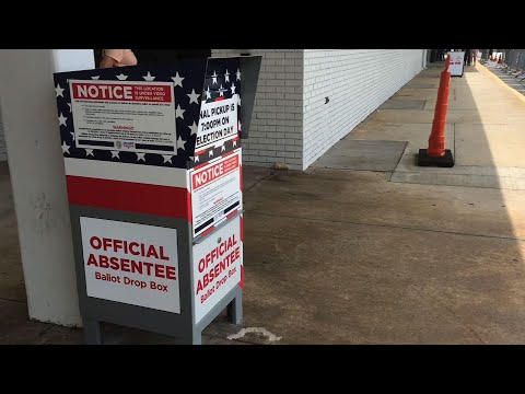 Ballot drop boxes seen as a way to bypass the USPS