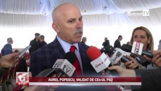 AUREL POPESCU, VALIDAT DE CEx UL PSD