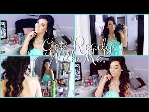 GET READY WITH ME | Makeup, Hair & Outfit Of The Day!