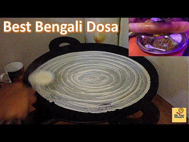 Bengali Tasty Masala Dosa || Restaurant Food in Bangladesh || AD Food Network