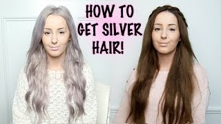 How To: Silver Hair Tutorial! | by tashaleelyn(NEW VIDEOS TWICE A WEEK! Please Subscribe! Click HERE - http://bit.ly/1jFSVD2 UPDATED 2015 SILVER HAIR VIDEO ..., 2013-10-13T22:26:00.000Z)