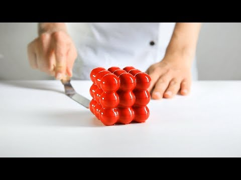 3x3x3 spheres, from the series Geometric desserts
