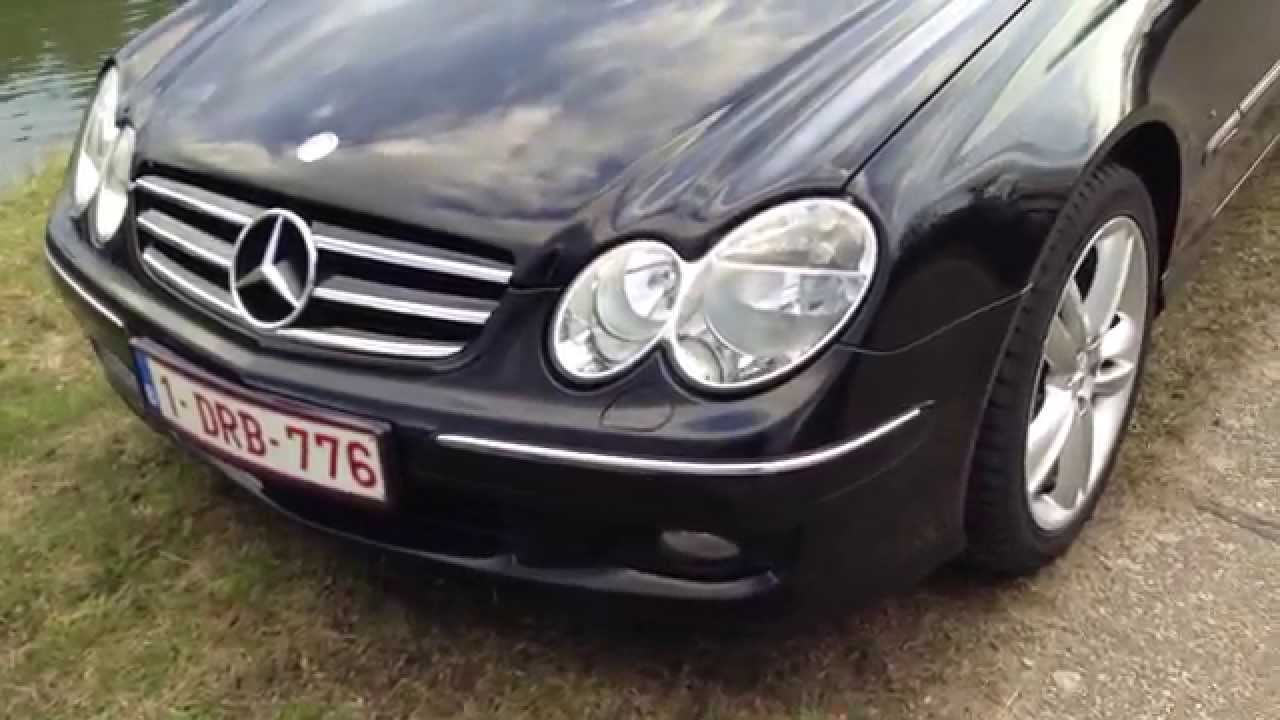 my 2006 mercedes clk 220 cdi w209 youtube. Black Bedroom Furniture Sets. Home Design Ideas