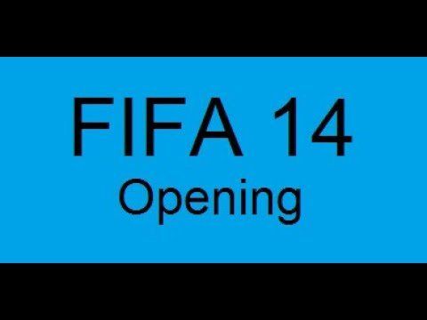 Opening Fifa 14!/Stary