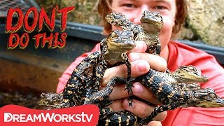 Covered In Baby Alligators | DON'T DO THIS